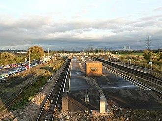Rogiet - Severn Tunnel Junction station at Rogiet