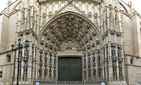 Seville Cathedral main portal