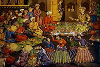 Abbas the Great - Shah Abbas I and his court.