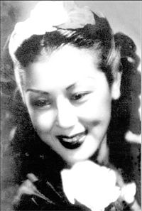 photo of Shangguan Yunzhu, taken in the 1940s