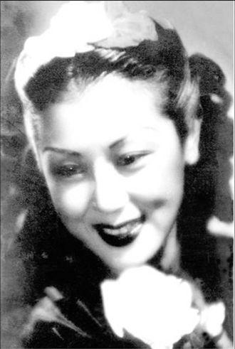 Shangguan Yunzhu - Shangguan Yunzhu in the 1940s