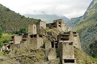 Peoples of the Caucasus - The medieval Georgian village of Shatili