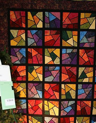 Mormon folklore - Image: Shattered quilted