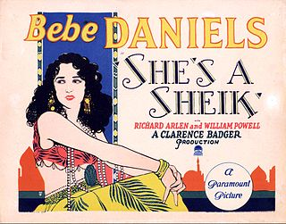 <i>Shes a Sheik</i> 1927 film by Clarence G. Badger