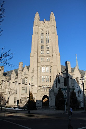 Yale College - Sheffield–Sterling–Strathcona Hall, main administrative building of Yale College