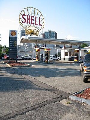 "Shell Oil Company ""Spectacular"" Sign - Image: Shell Oil Company Sign, Cambridge, MA"