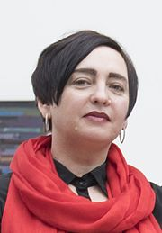 Shevchenko National Prize award ceremony 2017 Bogdana Frolyak cropped.jpg