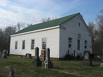 Madison Township, Dubois County, Indiana - Shiloh Presbyterian Church, a historic site in the township