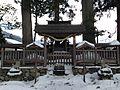 Shirakawa Shrine in Minashi Shrine (Hida-Ichinomiya).JPG