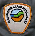 Shoulder badge CALM Coat 2000.JPG