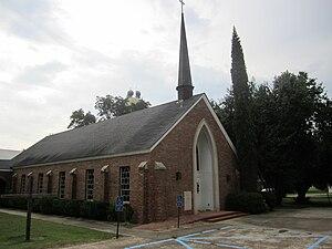 Sicily Island, Louisiana - Image: Sicily Island, LA, United Methodist Church IMG 0291