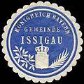 Siegelmarke Königreich Bayern Gemeinde Issigau W0262602.jpg