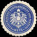 Siegelmarke Kaiserliches Gouvernement der Festung - Metz W0237967.jpg