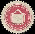 Siegelmarke Siegel der Haupt und Kreys-Stadt Luckau-Lausitz W0393491.jpg