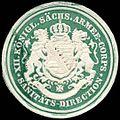 Siegelmarke XII. Königlich Sächsisches Armee - Corps - Sanitäts - Direction W0234579.jpg