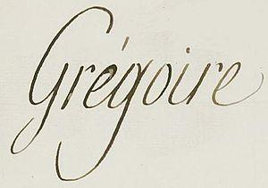 Henri Grégoire