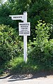 Signpost to Precote, Cropredy - geograph.org.uk - 1332830.jpg