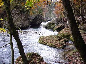 Sihl - The Sihlsprung rapids