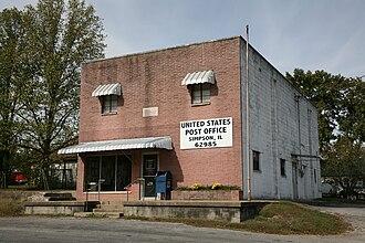 Simpson, Illinois - Simpson post office on Main Street
