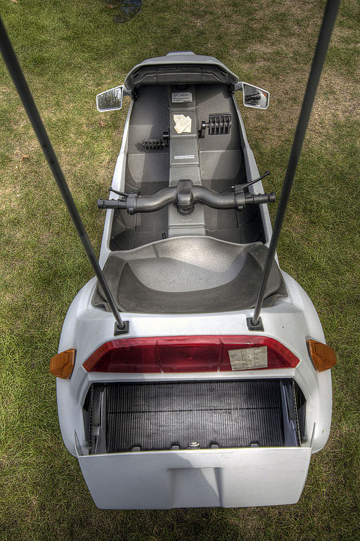 Sinclair C5 rear view