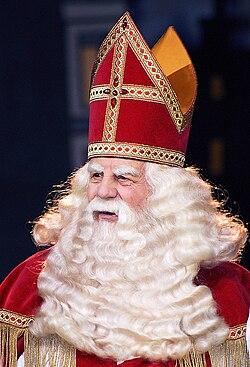 Saint nicolas f te wikip dia - Image de saint nicolas a imprimer ...