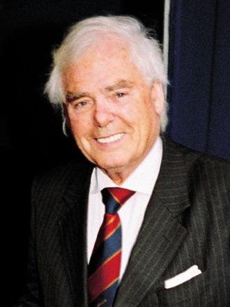 Arnold Clark - Sir Arnold Clark at his original Park Road branch in Glasgow