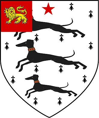 Sir John Moore Church of England Primary School - Image: Sir John Moore of Appleby Magna Coat of arms