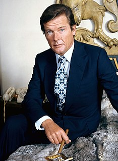 Roger Moore British actor