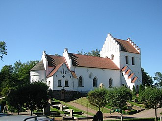 Sireköpinge Church - Sireköpinge Church, external view
