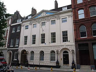 Worshipful Company of Skinners - Skinners' Hall, Dowgate Hill, London, built 1770–90, to the design of William Jupp
