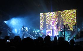 Skinny Puppy live at the Vic Theatre in 2014