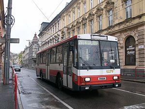 Public transport in Bratislava - Historical trolleybus