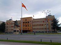 Skopje - Parlamentsgebäude der Republik Mazedonien.jpg