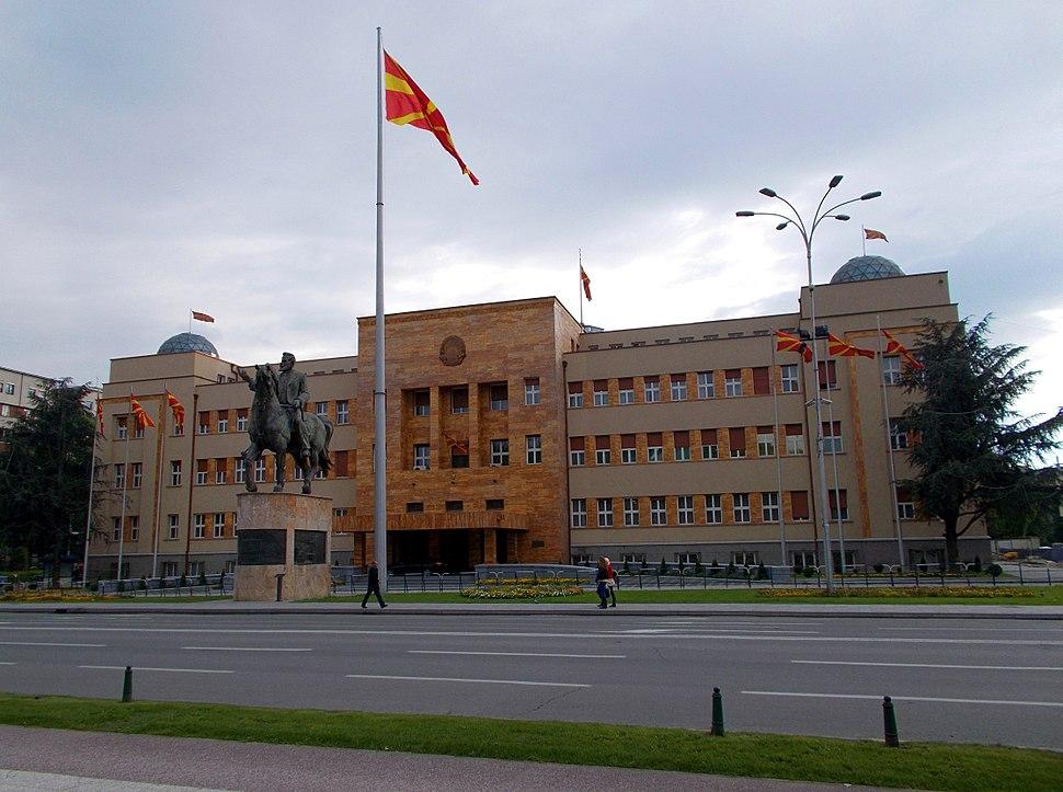Skopje - Parlamentsgebäude der Republik Mazedonien