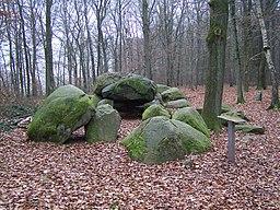 Große Sloopsteine in Wersen; ein Großsteingrab