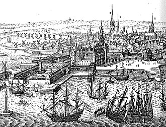 Christian IV's Arsenal - The Arsenal Dock at Slotsholmen