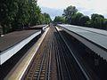 Snaresbrook station high southbound.JPG