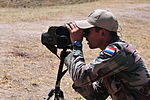 Snipers take aim during targets of opportunity event at Fuerzas Comando 2014 140725-A-NV708-076.jpg