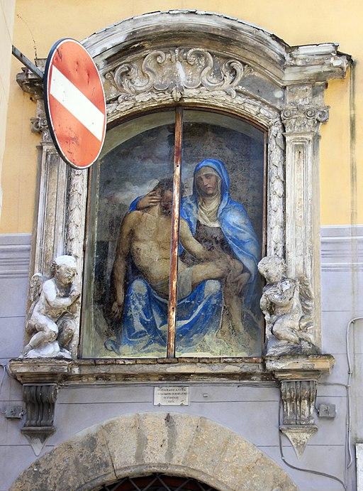 Sodoma, tabernacolo della madonna del corvo