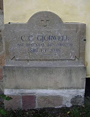 Carl Christoffer Gjörwell Sr. - Gjörwell's gravestone in Solna cemetery