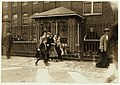 Some of the youngsters going to dinner. Noon hour. They all work in the Cocheco Mfg. Co., Dover, N.H. LOC nclc.01773.jpg