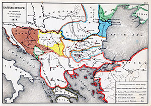National awakening of Bulgaria - Southeastern Europe after the Congress of Berlin.
