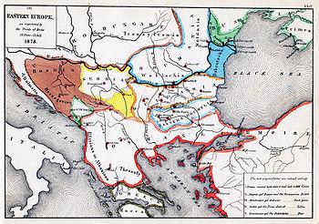 Karta Balkana 1878.Karta Evrope 1878 Superjoden
