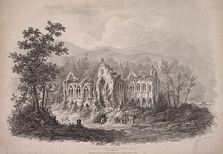 South East View of Tintern Abbey, Monmouthshire