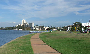 South Perth, Western Australia - South Perth foreshore