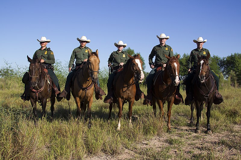 File:South Texas, Border Patrol Agents, McAllen Horse Patrol Unit (11934466756).jpg