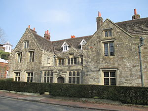 John Evelyn - Southover Grange, Evelyn's childhood home