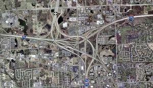 Photographie satellite