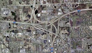 Satellite photograph