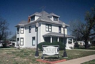Stafford, Kansas - Image: Spickard House, Stafford, Kansas
